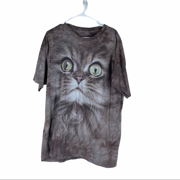 THE MOUNTAIN Large Cat Oversize Tee Size XL